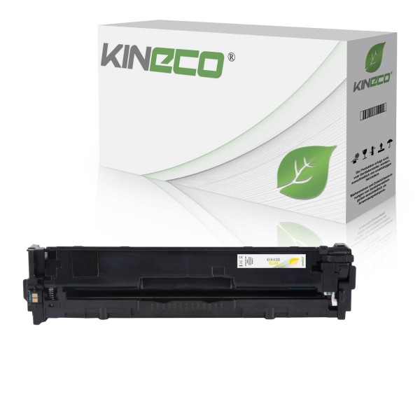 Toner kompatibel zu HP 410A CF412A XL Yellow