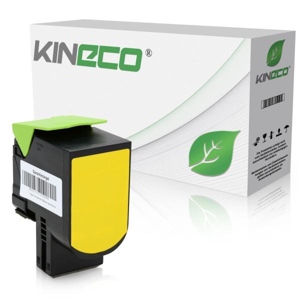 Toner kompatibel zu Lexmark CX510 800X4 80C0X40 XL Yellow