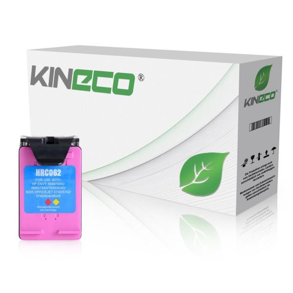 Tintenpatrone kompatibel zu HP 62XL C2P07AE XL Color