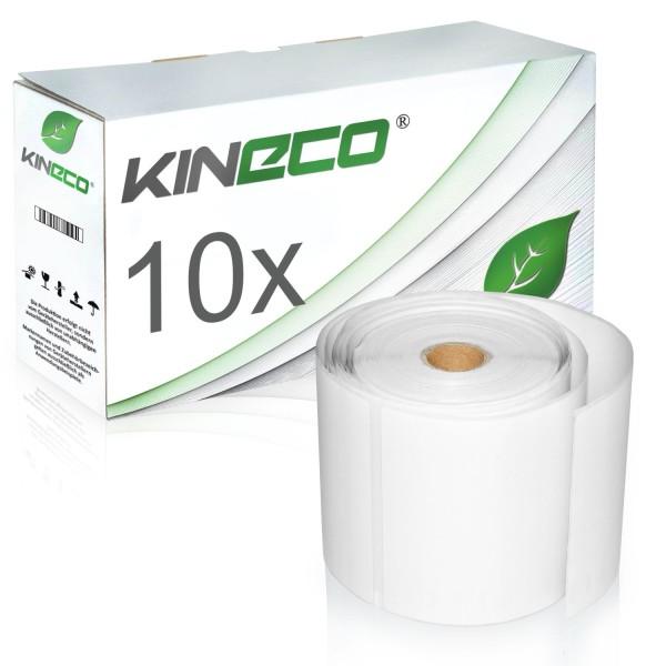 10x Etiketten kompatibel zu Dymo S0904980, 104mm x 159mm
