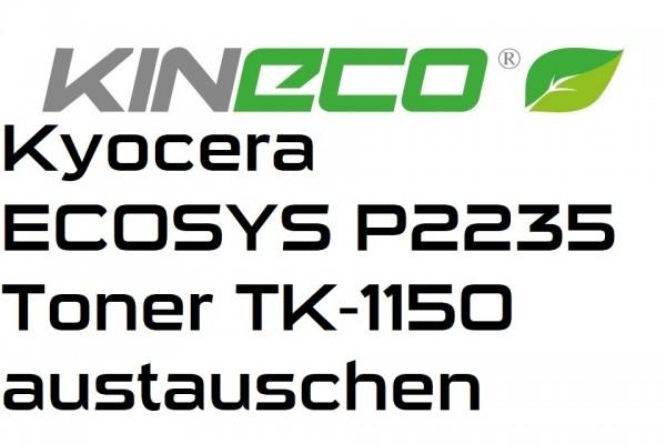 Kyocera-ECOSYS-P2235-Toner-TK-1150-austauschen