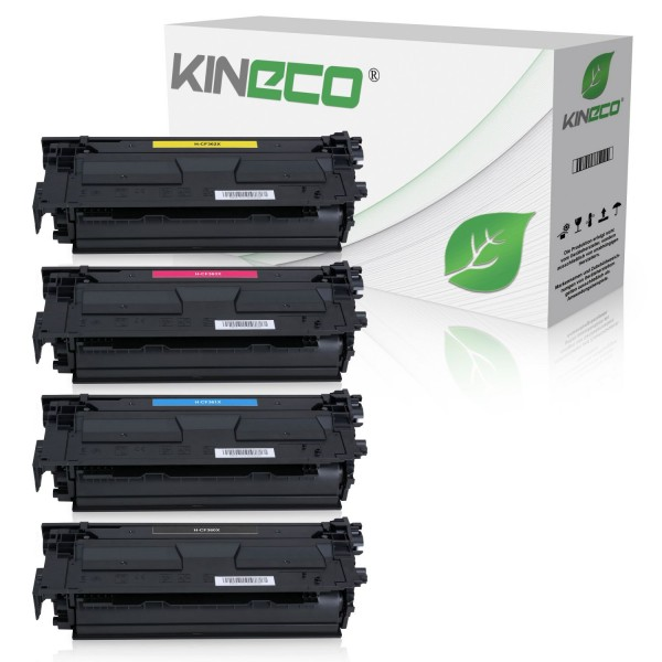 4 Toner kompatibel zu HP CF360X-CF363X XL