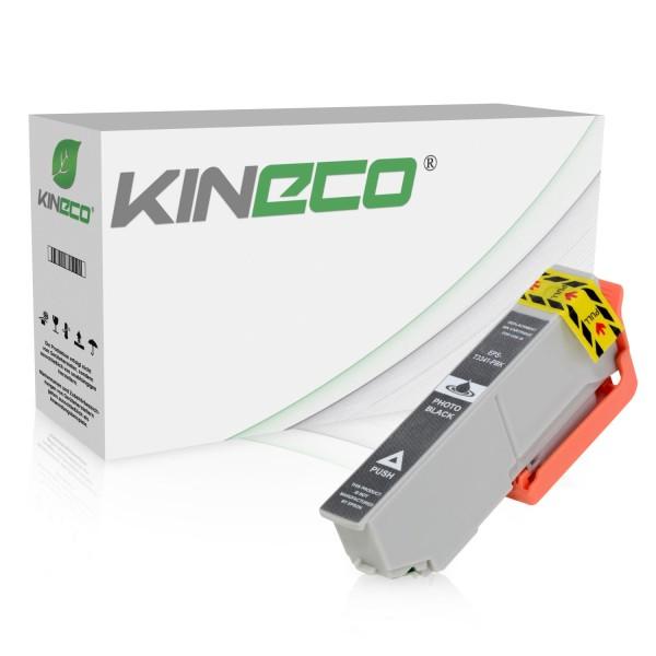 Tintenpatrone kompatibel zu Epson Stylus XP530 33 C13T33414010 XL Photo Schwarz
