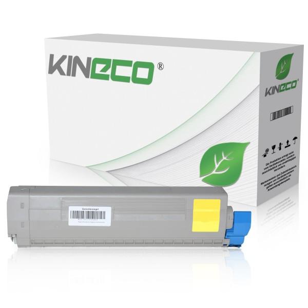 Toner kompatibel zu OKI C822 44844613 XL Yellow