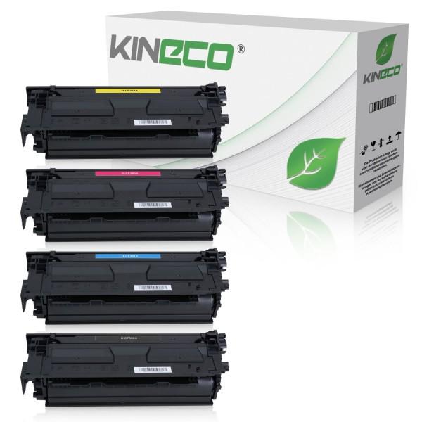 4 Toner kompatibel zu HP CF360A-CF363A XL