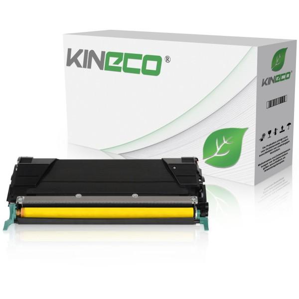 Toner kompatibel zu Lexmark X748 XL X748H2YG XXL Yellow