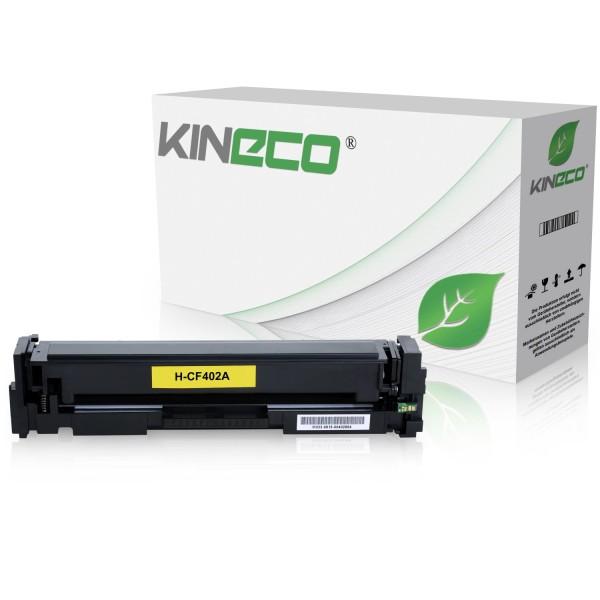 Toner kompatibel zu HP 201A CF402A XL Yellow